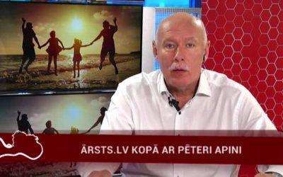 12.06.2017 Ārsts.lv kopā ar ārstu Pēteri Apini
