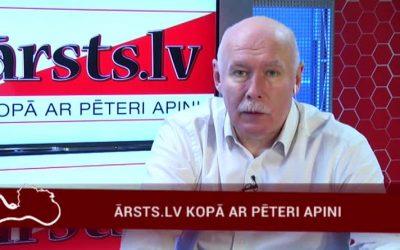27.03.2017 Ārsts.lv kopā ar ārstu Pēteri Apini