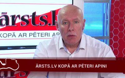 22.05.2017 Ārsts.lv kopā ar ārstu Pēteri Apini