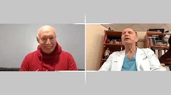 Разговор врача Петерис Апинис с профессором Леонидом Еиделманом